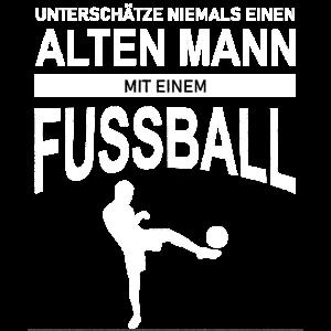 Alter Mann - Fussball Vintage Retro Style