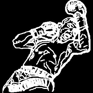 Boxer Mann Power Boxing Kraft Staerke