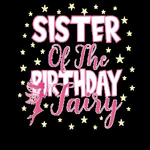 Schwester der Geburtstagsfee Prinzessin Mädchen Party