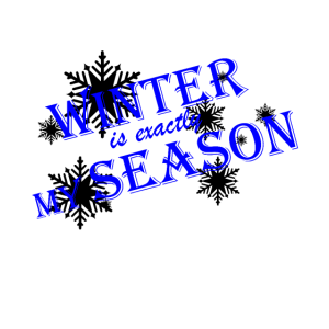 Winter ist meine Jahreszeit