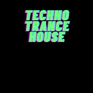 Electro Rave DJ Festoval Techno Party Geschenk