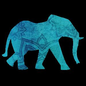 Elefant Yoga Mandala Meditation om namaste Indien