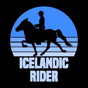 Personalisierte Geschenke Islandpferd Reiter