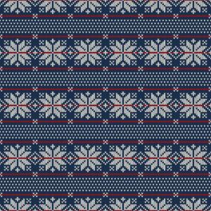 Maske Weihnachten Wolle Strick Textur Pullover