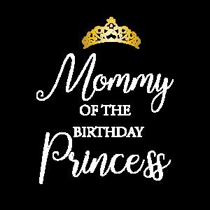 Mommy  Birthday  Princess  Gold Crown Celebration
