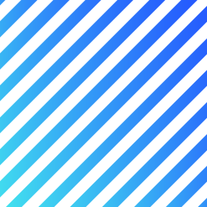 Blau gestreift