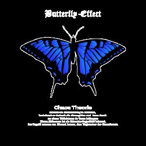 Schmetterlings-Effekt Vintage Streetwear Butterfly