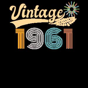 Vintage 1961 Retro 60. Geburtstag Geschenk