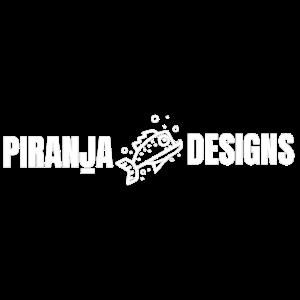 PiranjaDesigns Logo white