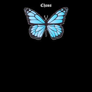 Chaos Theorie Schmetterling Grunge Streetwear