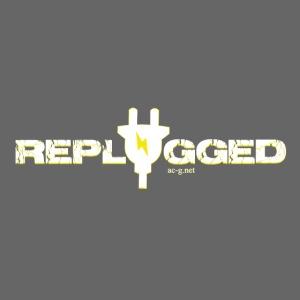 Replugged - Clip Art White