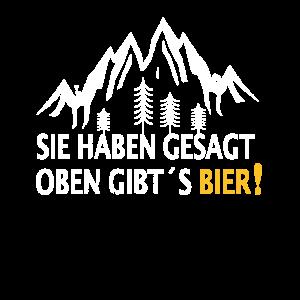 Wandern Wandergruppe Lustig Bier Ausflug Geschenk