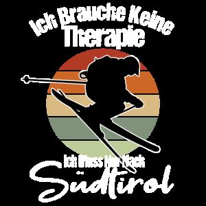 Ich brauch keine Therapie Skifahren Südtirol