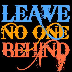 Lass niemanden zurück