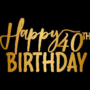 40. Geburtstagsgeschenke, 40 Jahre alter Geburtstag