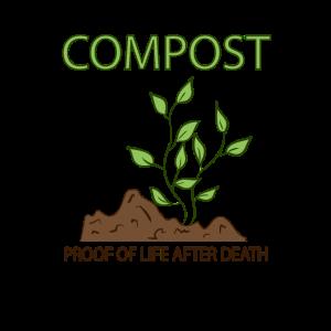 Compost Proof Of Life After Death Kompost Garten