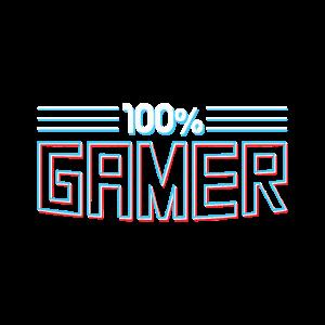 100% Gamer Zocken
