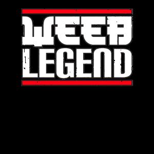Weeb Legend Weeaboo Trash Otaku Geschenke