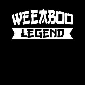 Weeaboo Legend Weeb Trash Anime Geschenk