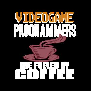 Computerspieler tanken Kaffee