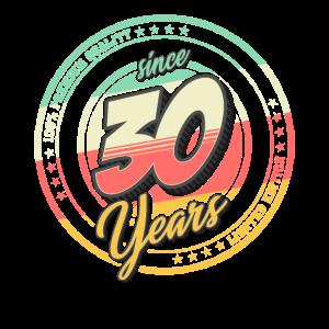 30. Geburtstag 1990 Geschenk Geschenkidee