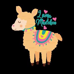 Alpaka Lama Just a girl who loves Llamas Geschenk