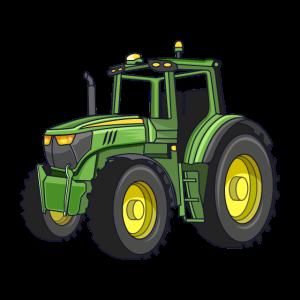 Trecker für den Bauern, auf dem Bauernhof Traktor