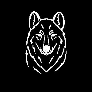 Wolf einsamer Wolf