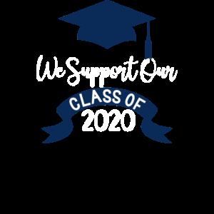 Wir unterstützen unseren Abschluss der Klasse 2020
