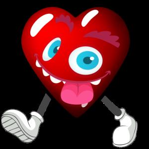 Mein walking Valentine Herz