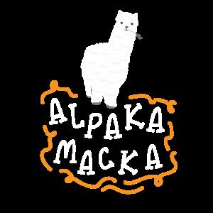 Alpaka Macka - Lama Liebhaber mit Alpaca Macke