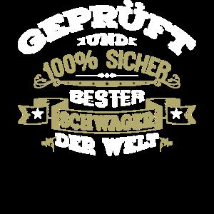 Bester Schwager der Welt Geschenk T Shirt