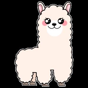Niedlich Alpaka Baby