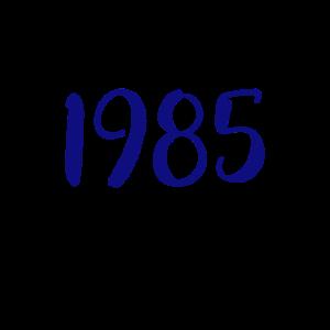 Jahreszahl 1985