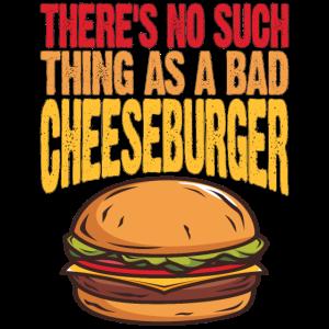 Kein schlechtes Cheeseburger lustiges Junk-Food-T-Shirt
