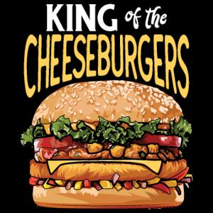 König der Cheeseburger lustiges Hemd