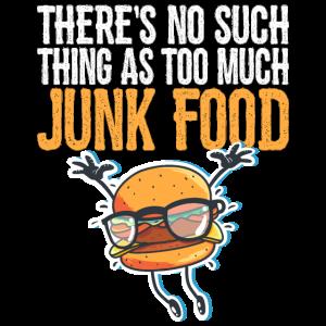 Nicht zu viel Junk Food Funny T-Shirt