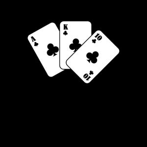 Kartenspiel Kartenspieler Karte lustiges Geschenk