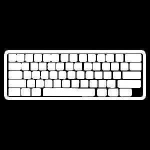 Ich mag meine Tastatur