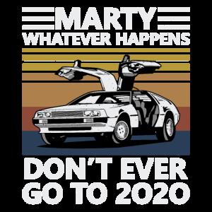 Oldtimer Marty Was auch immer passiert, passiert nie G.
