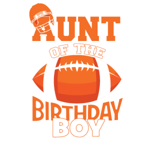 Tante des Geburtstagskindes American Football Kid