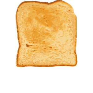 Toast Adult stage in the life cycle of bread Funny