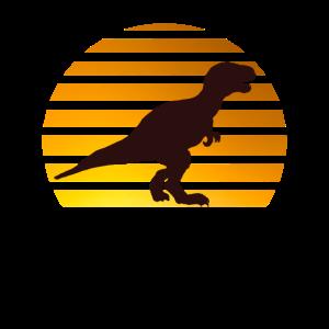 Dino Vintage Retro Dinosaurier T-Rex für Jungen