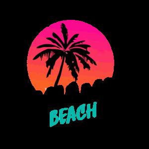 Miami Beach Grafik stilvoll