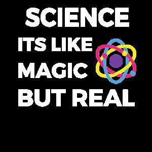 Wissenschaft ist wie Magie, aber real