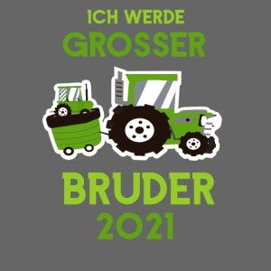 Großer Bruder 2021 Traktor und Baby