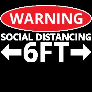 Warning Social Distancing