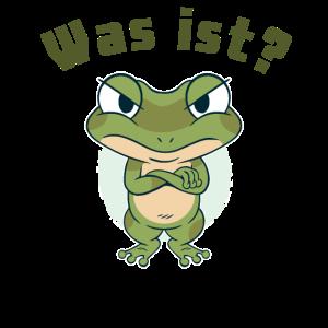 Was ist?- Frosch