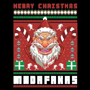 Merry Christmas Madafakas Ugly Christmas