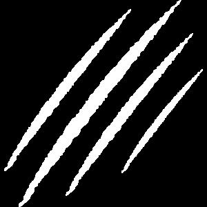 kratzer kralle wunde symbol